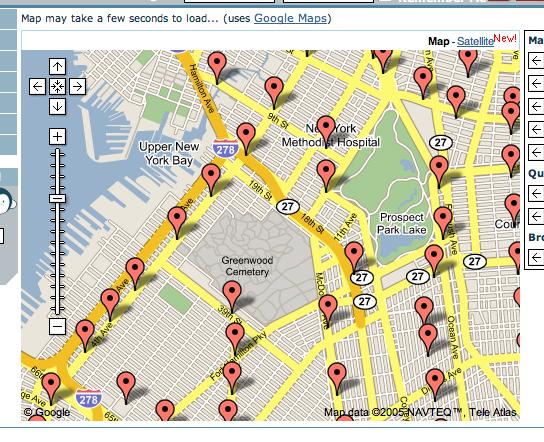 Hello Typepad Google Maps And The New York Subway